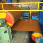 steel coil pattern coating line