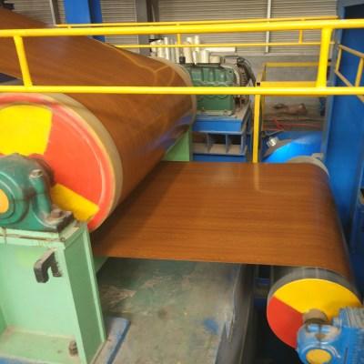 steel coil pattern coating line
