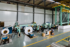Color coated aluminum coil technology