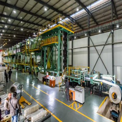 aluminum color coating line 1