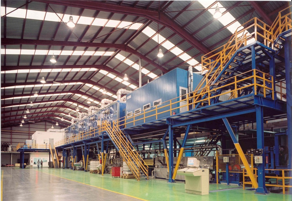 Aluminum-color-coating-line